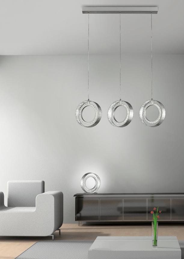 Anelli Colgante LED en forma de aro 14W 4000K