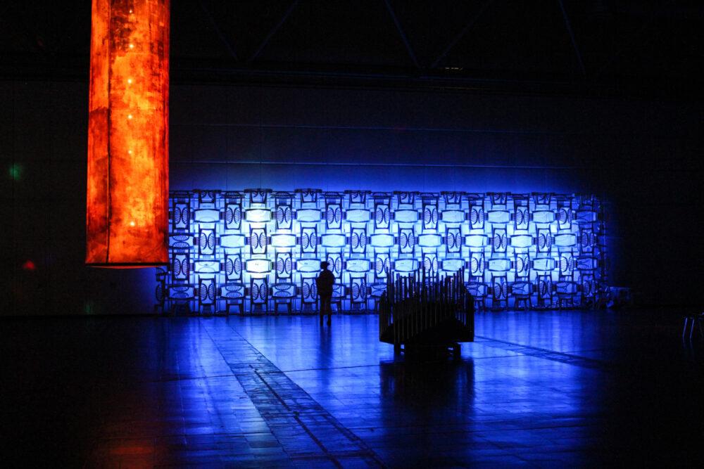 Escenario LED