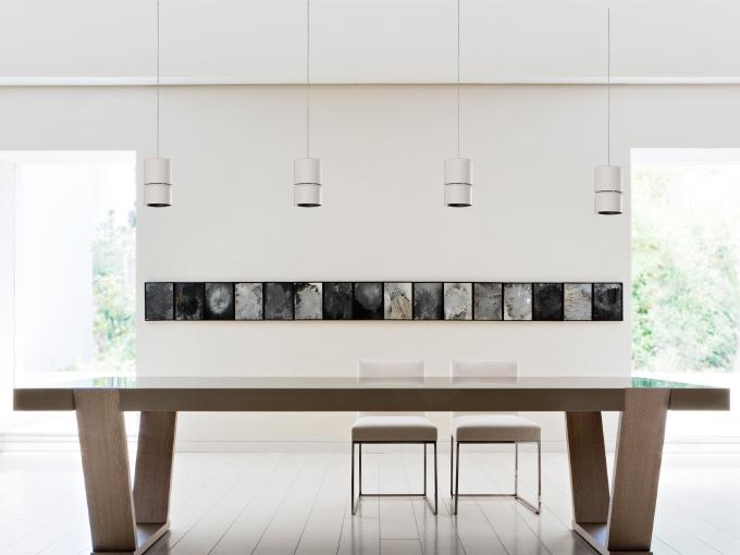 Técnica colgante FC 10-15 4K Ambiente mesa salón