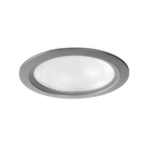 Downlight empotrable redondo de fundición de aluminio.