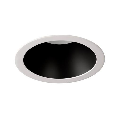 Downlight LED redondo blanco c/reflector negro
