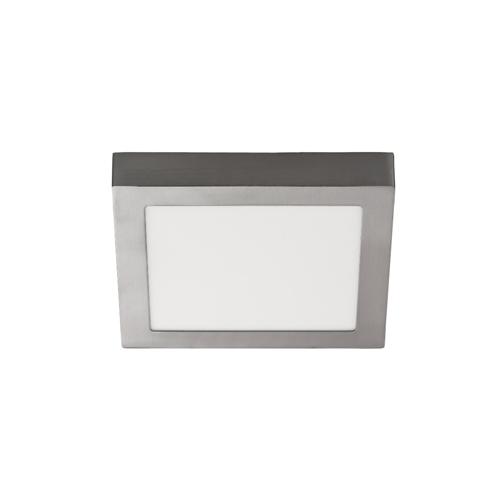 Panel LED cuadrado superficie 12W 3500K blanco reg. Push