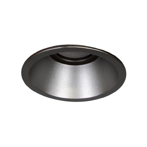 Emp. Redondo fijo fundición aluminio Cuero c/lamp. LED GU10 7W 3000K