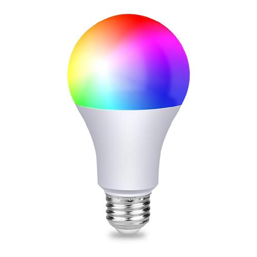 Lámpara E-27 9W RGB+CDC control WIFI