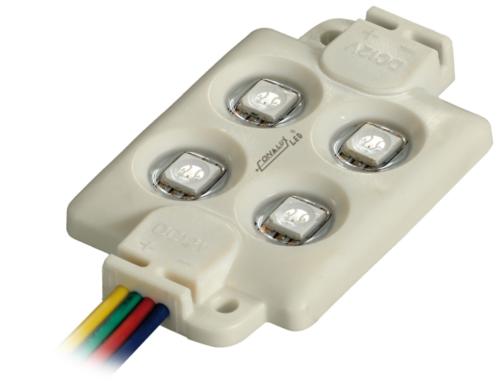 Módulo LED cartelería 1,44W 12V RGB